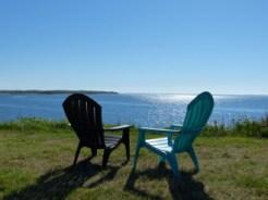 view to Vineyard Sound from Cuttyhunk Fishing Club