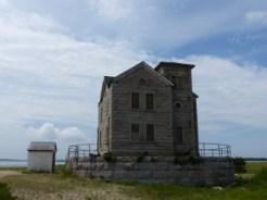 Cedar Island Light and oil house (Long Island)