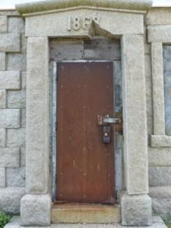 doorway, Cedar Island Light (Long Island)