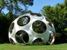 """Buckminster Fuller/John Kutik,""""Fly's Eye Dome"""""""