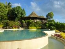 Pacific Resort - $1200 a night NZ Dollars, infinity swim pool