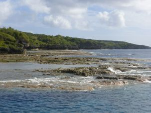 Niue Reef – Near the harbor looking south