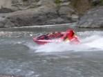 Fast Boat – Shotover boat headed downstream
