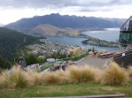 Queenstown – We rode the gondola up on to Mt. Ben Lomond, then hiked further up for a few hours, This is a view from the gondola area, overlooking Queenstown.