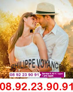 LE TOP DE LA VOYANCE AMOUR 0892 23 90 91 (0,40€)