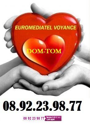VOYANCE DOM TOM EUROMEDIATEL 0892 23 98 77