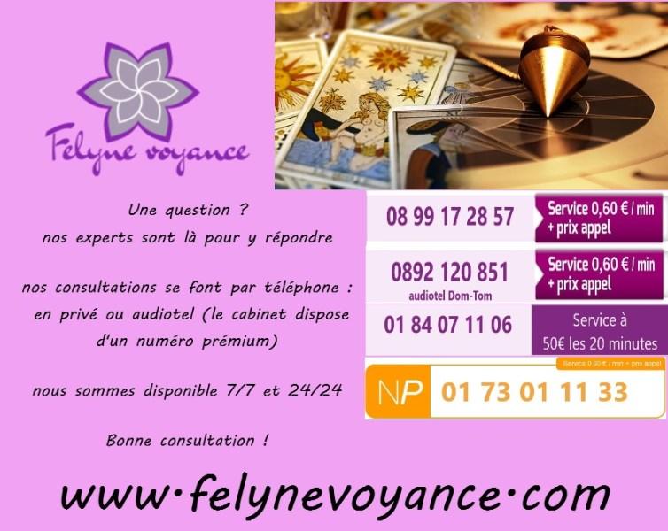 Felyne voyance en ligne 7/7