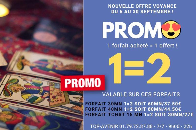 Promotions sur TOP-AVENIR 1=2