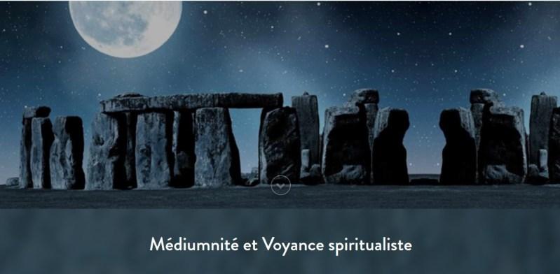 Médium et voyante spiritualiste, contact avec les défunts, dégagement d'énergies parasites, passage à une conscience gardienne