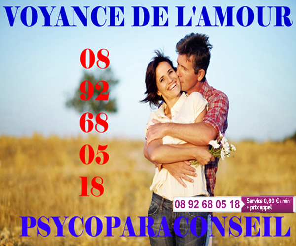 CABINET N°1 VOYANCE DU COEUR 0892 68 05 18