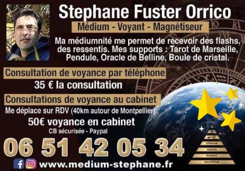 Stephane Fuster Orrico – Médium – Voyant – Magnétiseur