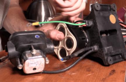Installing rebuilt pump head to motor