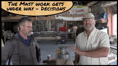 Featured Image - Mast Work begins