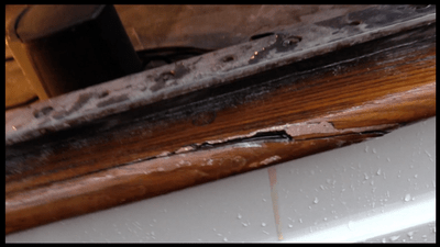 Featured Image - Repaired wooden trim on a boat
