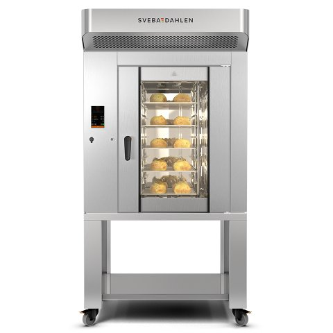 in store baking oven with industrial