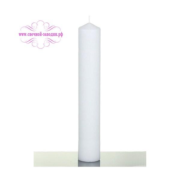 свеча цилиндр высотой 38 см