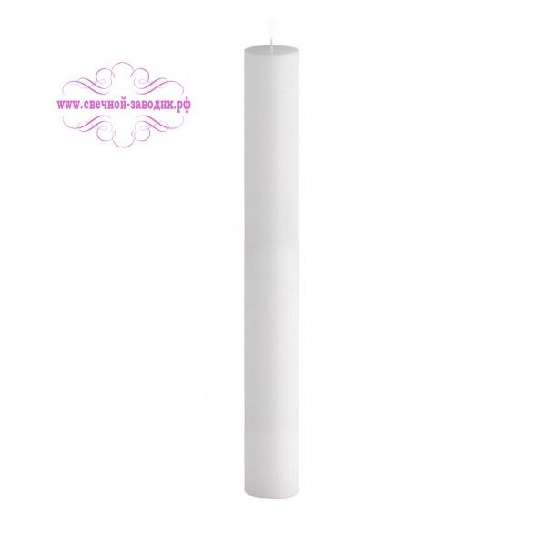 свеча цилиндр с плоской вершиной высота 45 см
