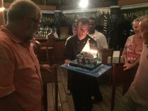 BD Cake Prestentation