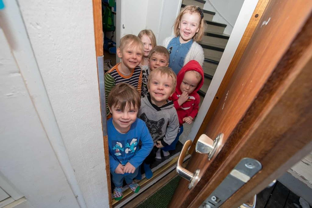 Sörgårdens förskola bjöd in till öppet hus. Foto: Morgan Grip