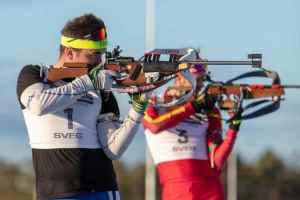 Svegs IK:s skidskyttar gjorde upp om KM-medaljerna