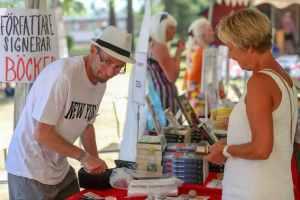 Litteraturfestival lockade många besökare