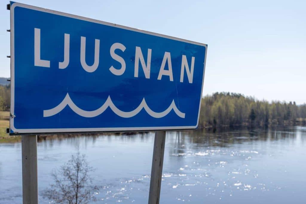 Älvstädningen startar 18-19 augusti längs med Ljusnan i Sveg och Hede där ambassadören Björn Ferry kommer att vara med och städa. Foto: Morgan Grip