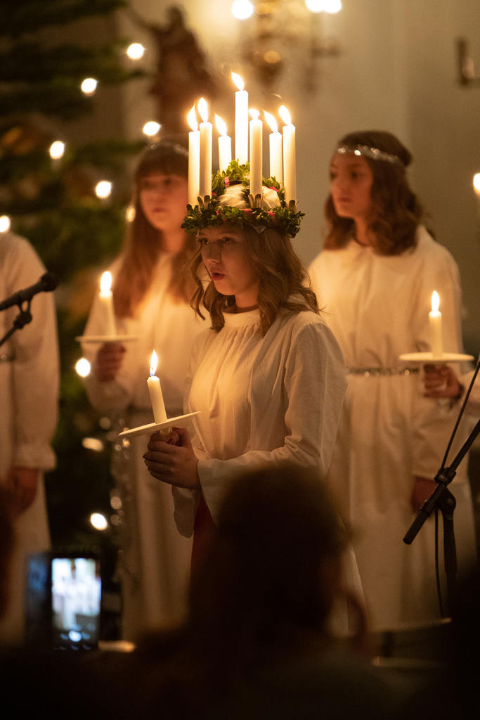 Lucia Tilda Hansson från Sveg. Foto: Morgan Grip