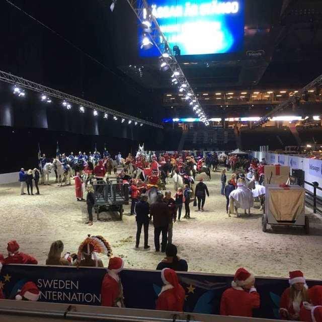 Rekordmnga deltagare frn oss i rets julavslutning under sihs2017 Kulhellip
