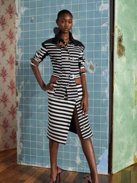 Top Model, Eniola Abioro Returns Home