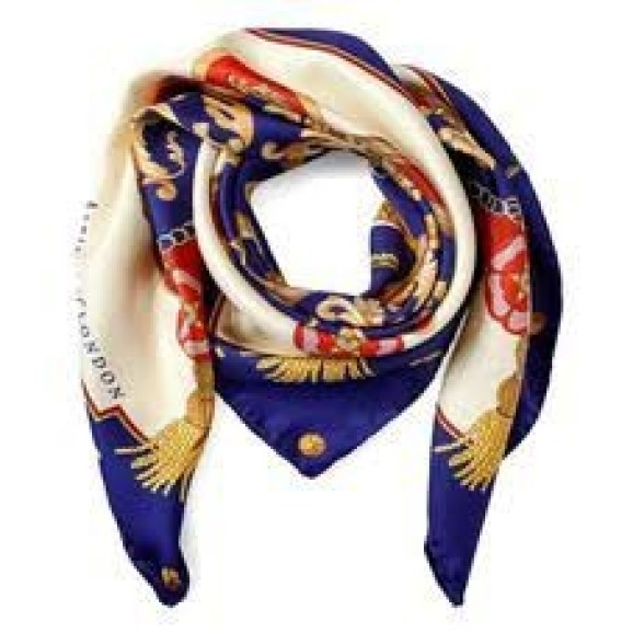 Wrap your edges at night with a silk scarf