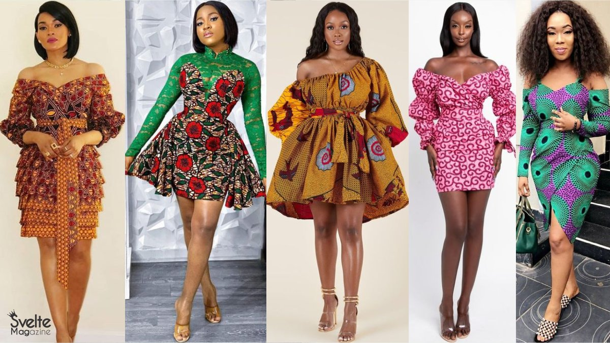 Ankara Short Gowns to Rock This New Year