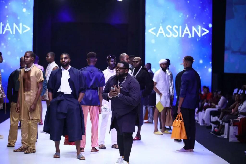Assian at Lagos Fashion Week Day 2