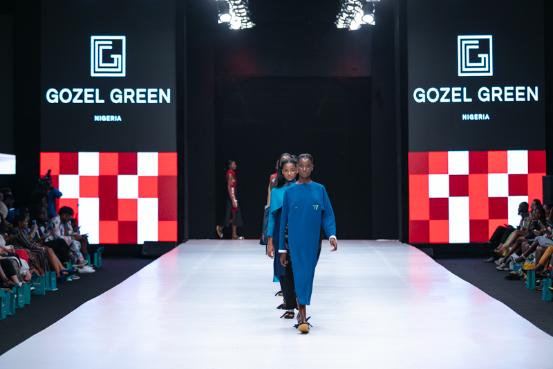 Gozel Green at Heineken Lagos Fashion Week Day 3