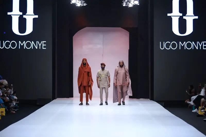 Ugo Monye at Heineken Lagos Fashion Week Day 3