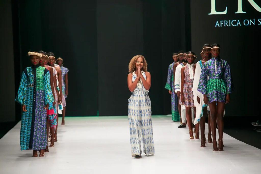 Eki Silk at Heineken Lagos Fashion Week Day 1