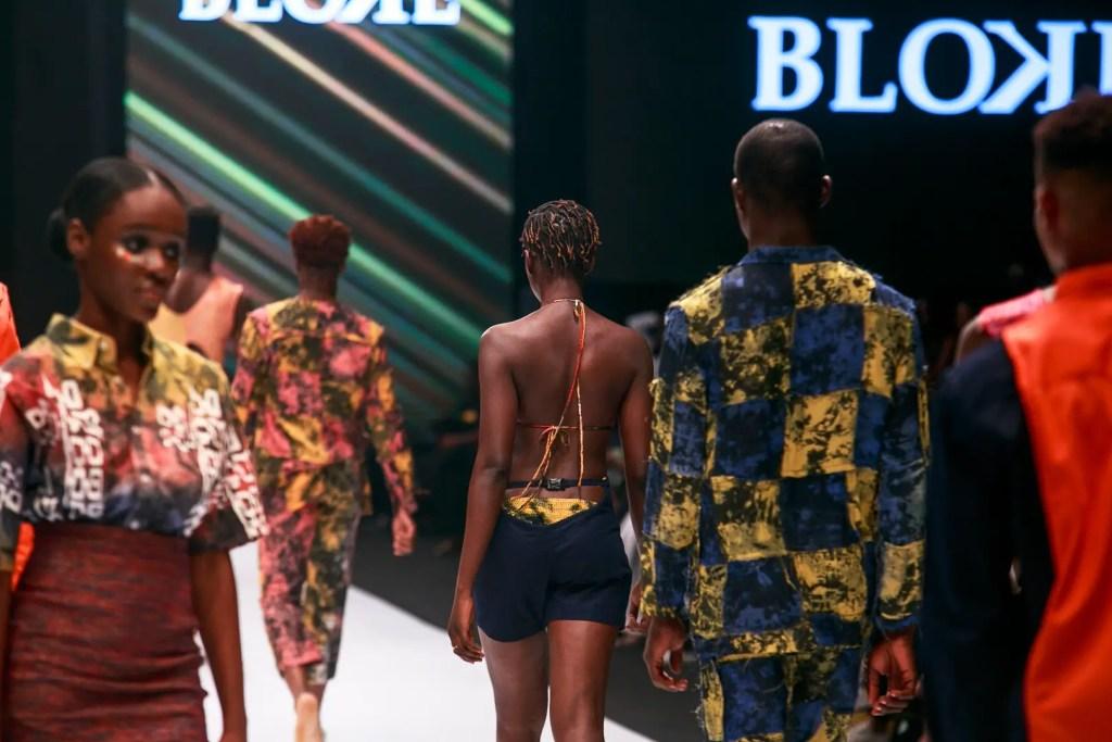 Bloke at Heineken Lagos Fashion Week Day 1