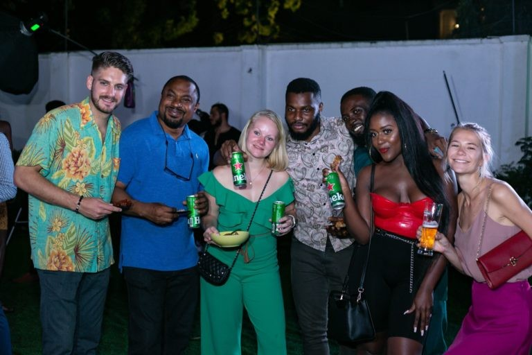 Lagos Fashion Week launch party