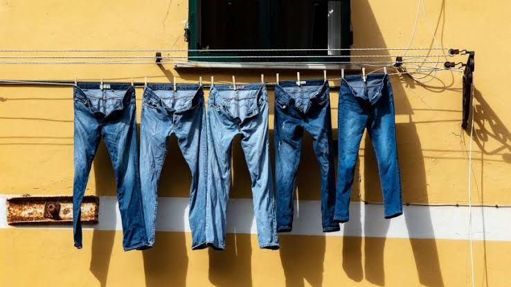 hanging jeans - 10 Denim Tips: How to Maintain Your Jeans