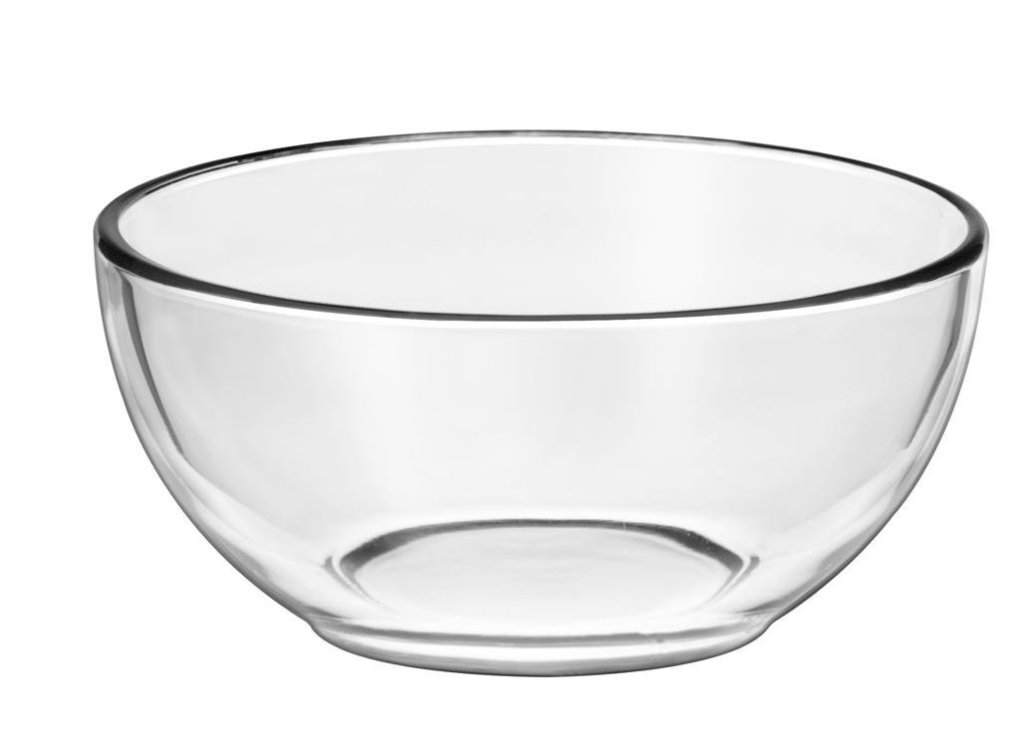 Empty glass bowl - Perfect Scrub For Soft and Plump Lips