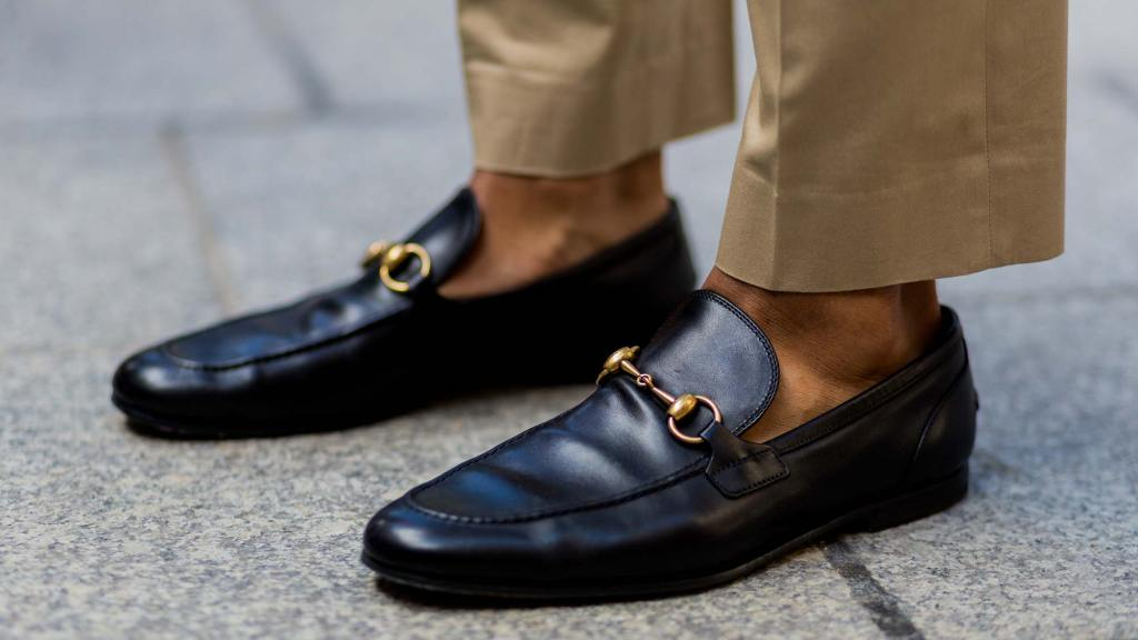 black loafers - Types of Shoes for Men