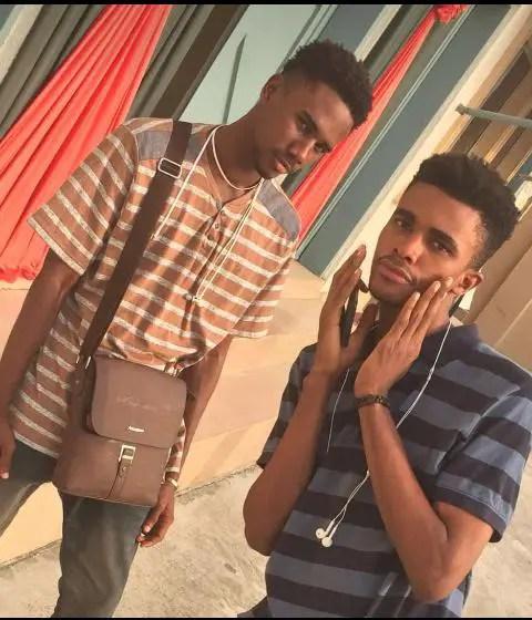 two teenage boys in casual wears