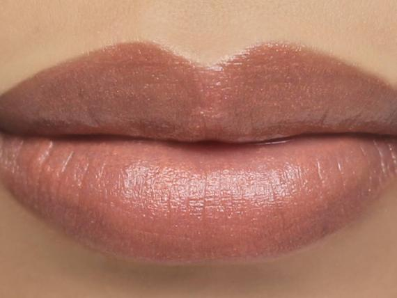 sheer lipsticks on the lips
