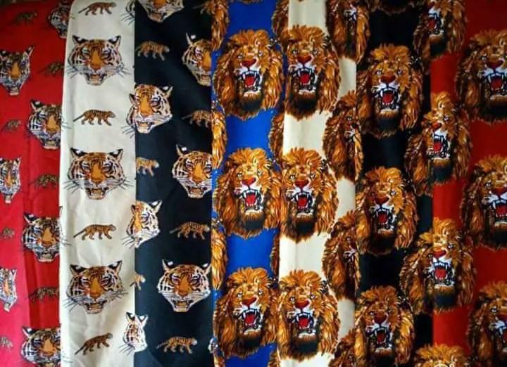 different color isi agu fabrics