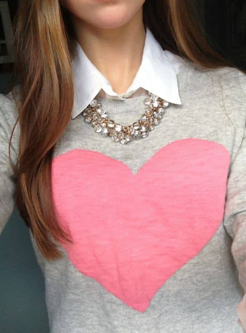 lady in a collared shirt with necklace