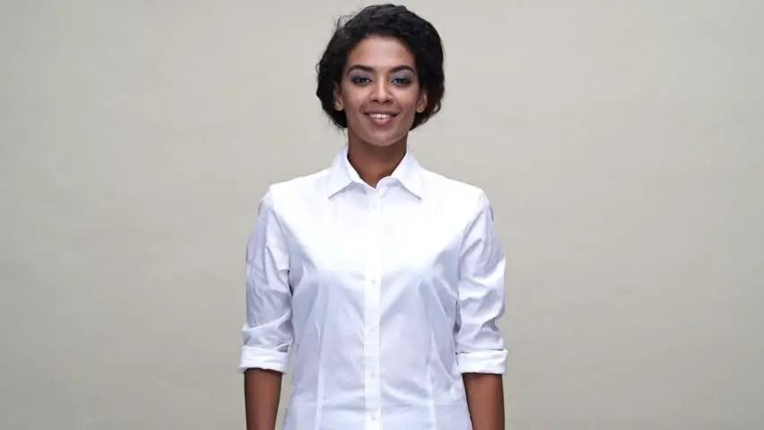 lady wearing white shirt