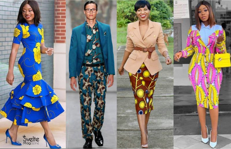 Super Stylish Inspo for Ankara Office Wear