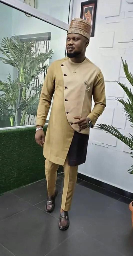 man rocking stylish brown senator