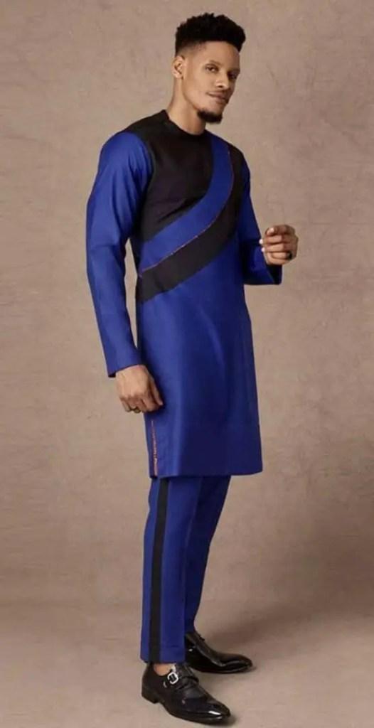 man wearing blue senator