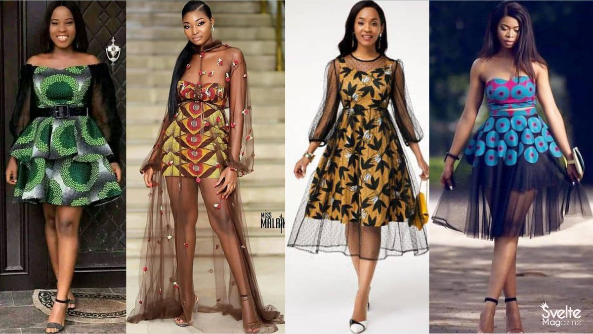 Gorgeous Ankara and Net Styles for Your Next Owambe