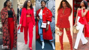 How to Wear Red Outfits on Valentine's Day